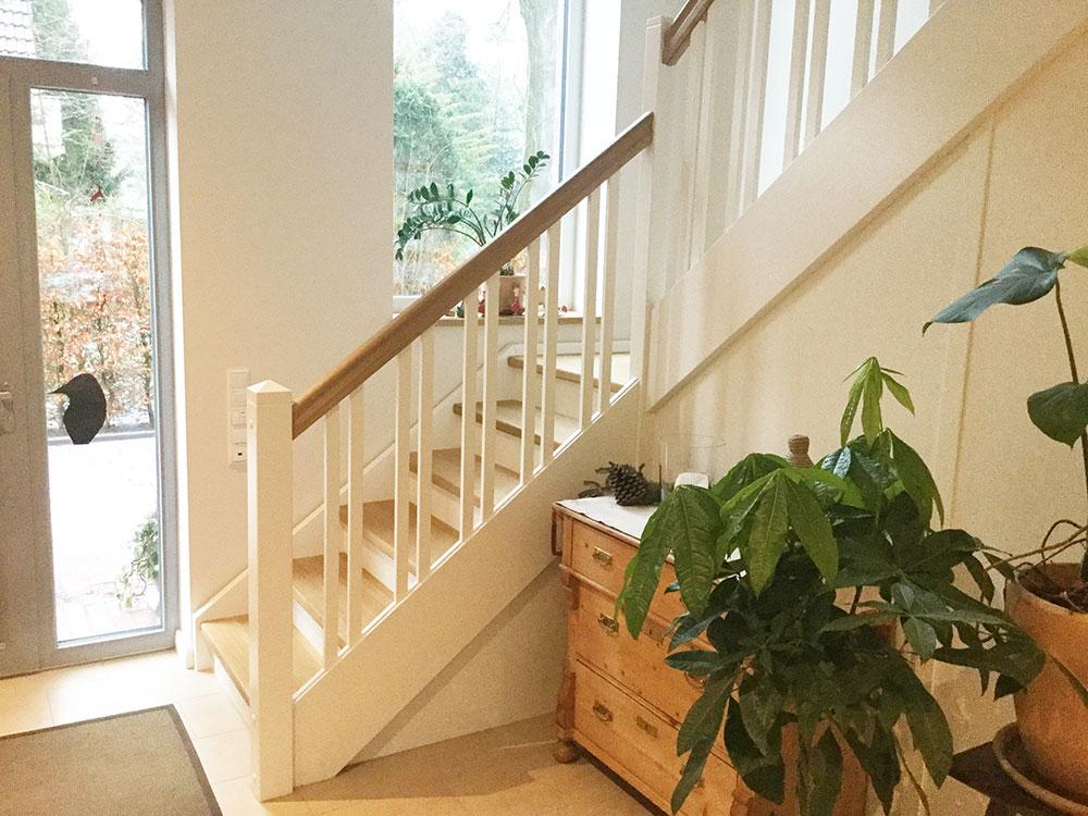 Landhaus Treppen Treppendesign Landhaustreppen Moderne